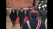Освещаване на бойните знамена и знамената светини на Българската армия