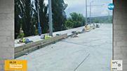 Дрямка в работно време на Аспаруховия мост