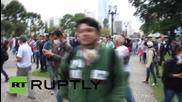 Бразилската полиция стреля с гумени куршуми по протестиращи учители