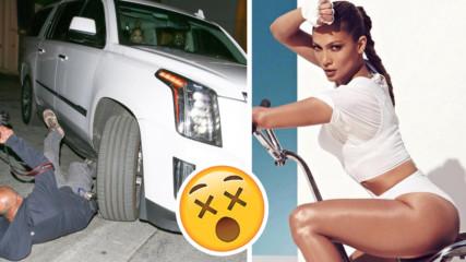 Дженифър Лопез удари с колата си репортер, реакцията й обаче шокира всички!