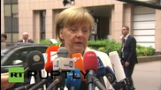 "Belgium: The ""currency"" of trust has been lost, warns Merkel ahead of ""hard"" Greece talks"