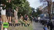 Ukraine: High alert in Kiev as football ultras kick-off again