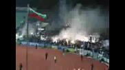 Levski Fans At The Derby 01.11.2008