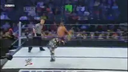 Smackdown 1.29.2010 Rey Mysterio vs Hbk + Batista + Hhh + Undertaker