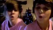 Justin Bieber and Lil bra Messin Round