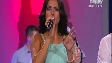 Tanja Savic - Da raskinem sa njom (Live) - Tv Happy 2014