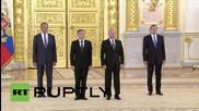 Путин поздравява новоназначените чуждестранни посланици