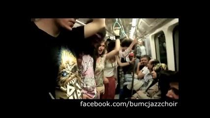 Mини концерт в метрото