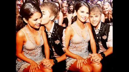 Justin Bieber и Selena Gomez на Teen Choice Awards 2011