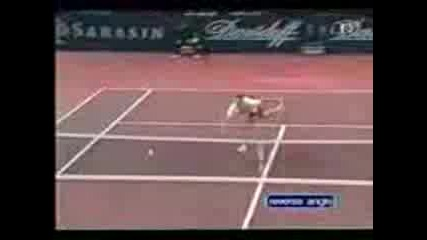 The best shot by Roger Federer