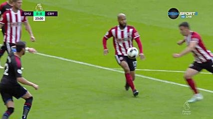Шефийлд Юнайтед - Кристъл Палас 0:0 /първо полувреме/