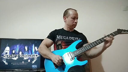 Oki Guitar Player-Mourn (Sentenced cover)