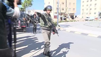 State of Palestine: Scuffles break out as IDF search Ramallah for Ofra shooters