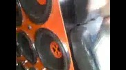 Team Burdelluz nel furgone del Team Low Bass 40 subwoofer 15!!!