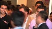 Хиляди посрещнаха Дел Пиеро в Ню Делхи