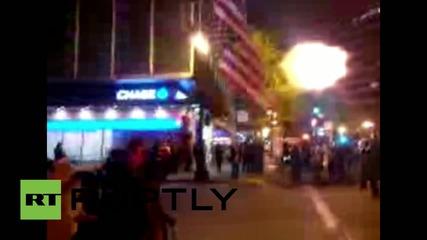 USA: Multiple arrests at Oakland police brutality protest