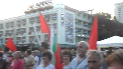 Румънеца и Енчев -шатрата ( Варна 7.09.2014 )