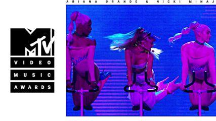 * Живо Изпълнение * Ariana Grande - Side to Side ft. Nicki Minaj ( From the 2016 V M A's - M T V )