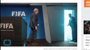 Photo Captures Iconic Moment of Ousted FIFA President Exiting Building