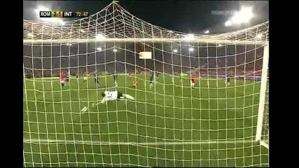 Рома - Интер 2:1 Лука Тони