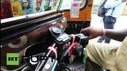 Индия: Пътувай първокласно с новите луксозни рикши, за добра кауза