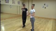 Dancing Stars - Поздрав за Алфредо от Дорина и Антон