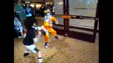 Chibi Naruto Fight