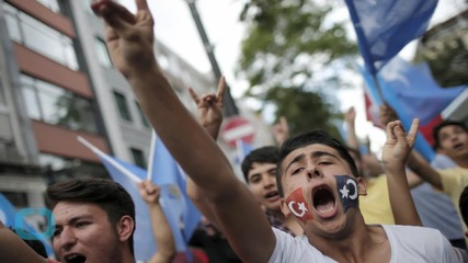 Hundreds in Istanbul Protest Against China's Treatment of Uighur Minority