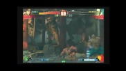 Sf4 Daigo (ryu) vs Suropu (sagat) - Set 02 - Playland Casual Matches - 23 - 11 - 2009