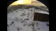 Челябинския метеорит. Компиляция