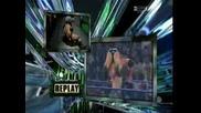 Summerslam 2008 - Batista Vs John Cena (1st Time Ever)