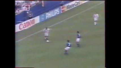 Сащ 94 - 1/4 - Италия - Испания 2:1 - част 1