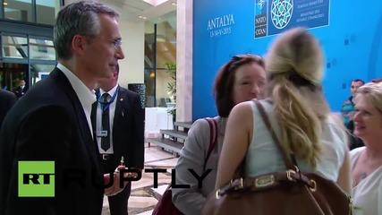 Турция: Щолтенберг пристига в Анталия преди срещата на НАТО