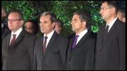 Орешарски освиркан в Пловдив, Плевнелиев аплодиран - 06.09.2013