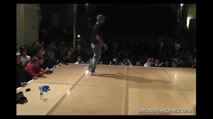 Battle Of The Year 2010 1 on 1 Bboy Battle Alcolil vs Lil G