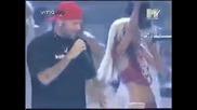 Limp Bizkit, Fred Durst feat Christina Aiguilera Live Mtv Vma 2000