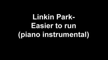 Linkin Park - Easier To Run (piano)