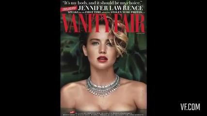 Jennifer Lawrence Makes a Splash for Her Cover Shoot - Vanity Fair