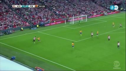Атлетик Билбао - Барселона 4:0 първи мач за Суперкупата на Испания [14.08.2015]