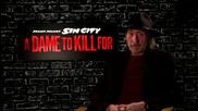 Интервю с режисьора Франк Милър за филма му Град на Греха 2: Жена, за която да убиеш (2014)