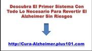 El Alzheimer Tiene Cura