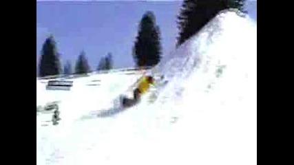 Сноуборд - Троен Бекфлип