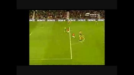 4 гола на Уейн Рууни срещу Хъл сити (асистенция на Бербатов)