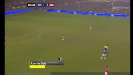 Евертън - Арсенал 1:1