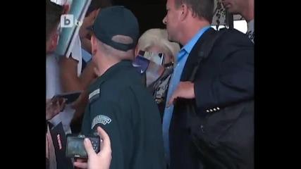 Лейди Гага пристигна в София 3 дни преди концерта