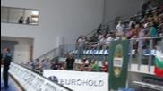 """Обстановката в зала """"Арена Самоков"""" преди решителен мач за баскетнационалите"""
