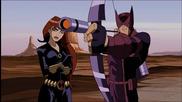 Отмъстителите: Най-могъщите герои на Земята / Хълк срещу Ястребовото Око и Черната Вдовица