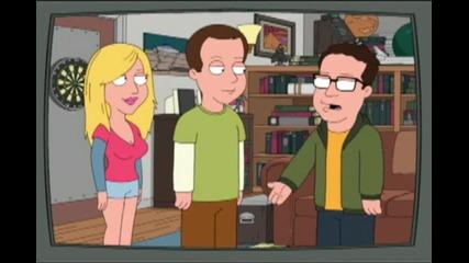 Big Bang Theory scene in Familyguy