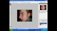 Photoshop - Исчистване на лице