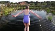 Вие бихте ли плували в такъв басейн?